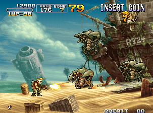 Metal Slug 3 is coming to the Xbox.