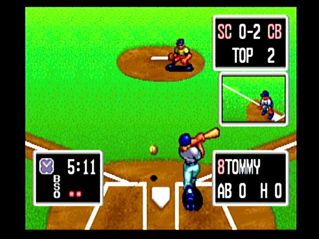 Baseball Stars Professional. One of the first NeoGeo games.