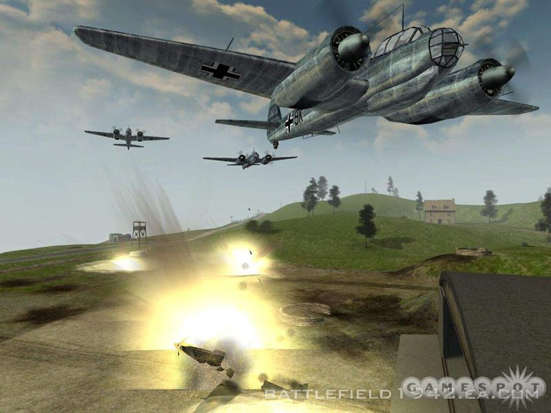 Death from above took on a whole new meaning in Battlefield 1942.