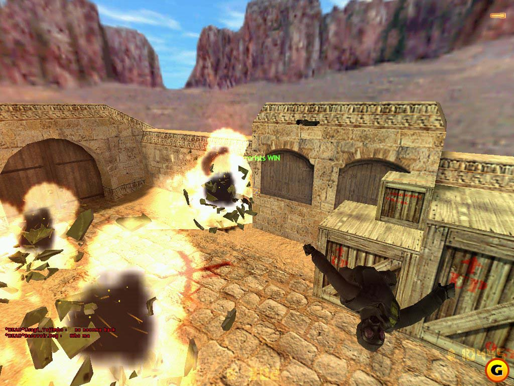 Dust is one of the most legendary multiplayer maps of any FPS game.