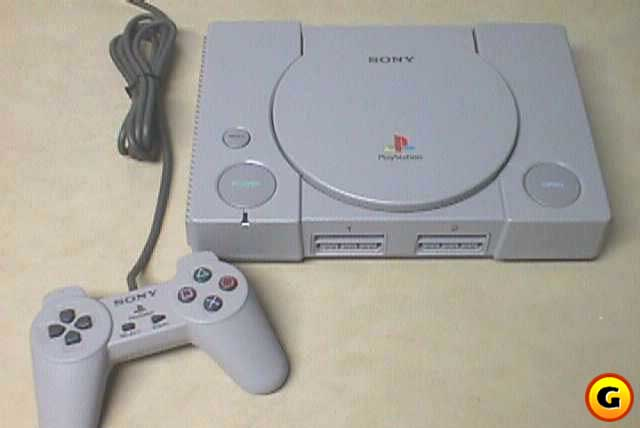 The Sony PlayStation.