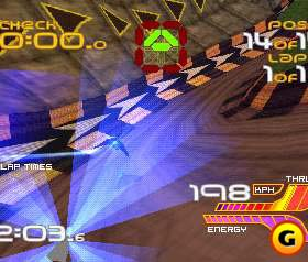 Wipeout XL had a hopping soundtrack to match the pace of the game.