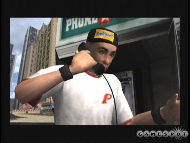 Aside from licensed tunes, there's quite a bit of product placement in T.H.U.G.