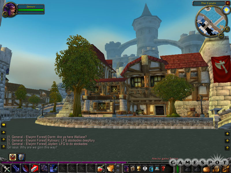 Stormwind is both nothing and exactly like any city you've ever actually been to.