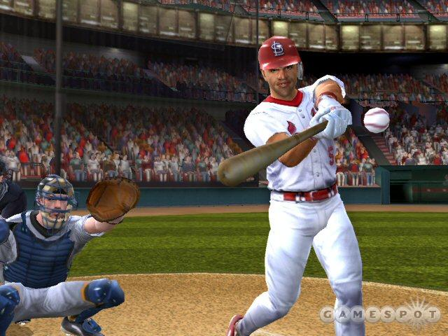 You'll find new modes to explore in MVP Baseball 2004.