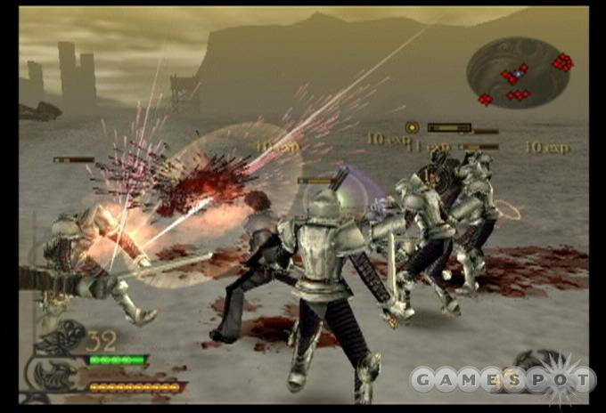 You'll find plenty of ways to kill an enemy in Drakengard.