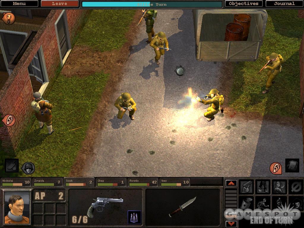 See screenshots of Silent Storm