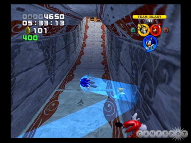 It's rife with compromises, but Sonic Heroes is still the purest Sonic game to come out in years.