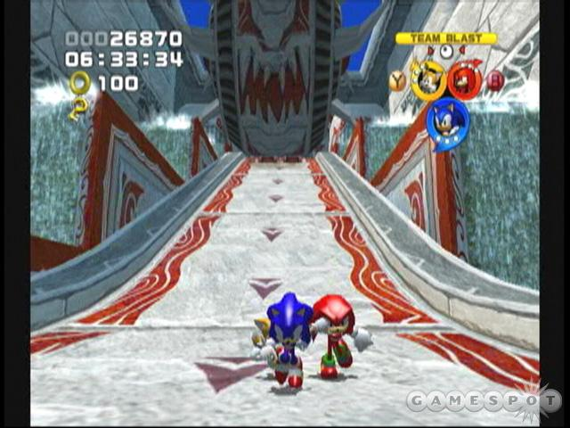 If you're going to give Sonic Heroes a try, do yourself a favor and avoid the PlayStation 2 version