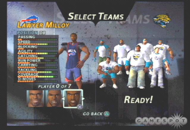The Bills have plenty of defensive stars, including 2003 addition and All-Star Lawyer Milloy.