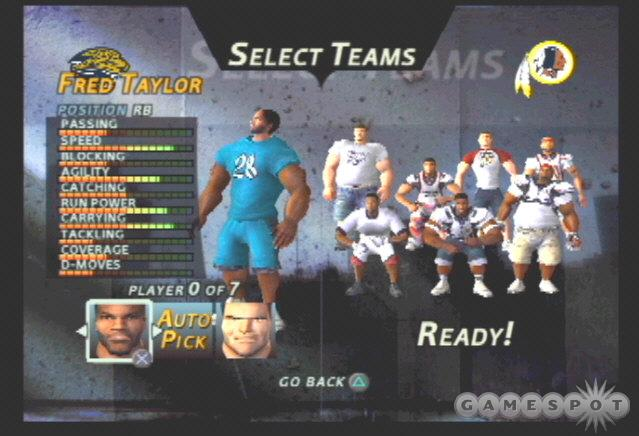 The Jaguars can hold their own, especially behind the legs of Fred Taylor and the hands of Jimmy Smith.