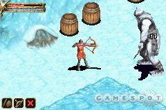 As nice as the real-time shadows are, it's good to finally see a GBA game with large enemies.
