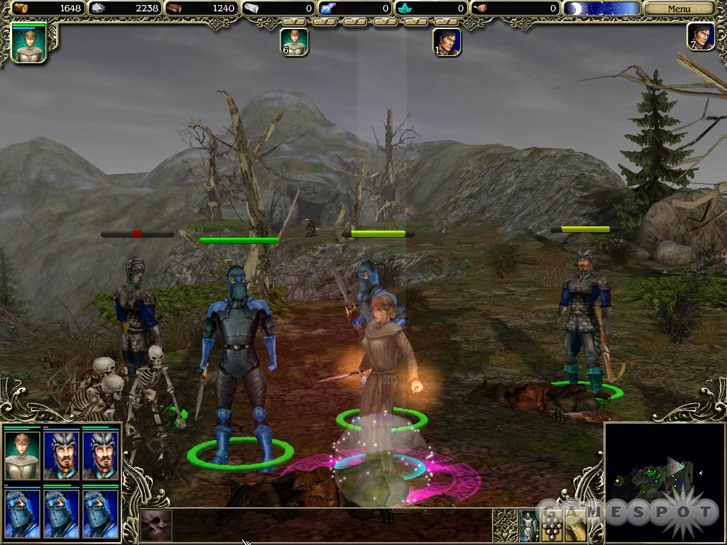See screenshots of SpellForce: The Order of Dawn