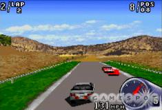 The draw distance is short, and, if you look closely, you'll notice that those three CPU cars are overlapping.