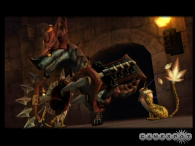 The Lizardman King will be accompanied by a pair of Coeurls. Be sure to take them out before tackling the King himself.