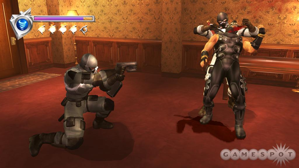 Don't expect any mercy from the game's variety of fast, ruthless enemies.