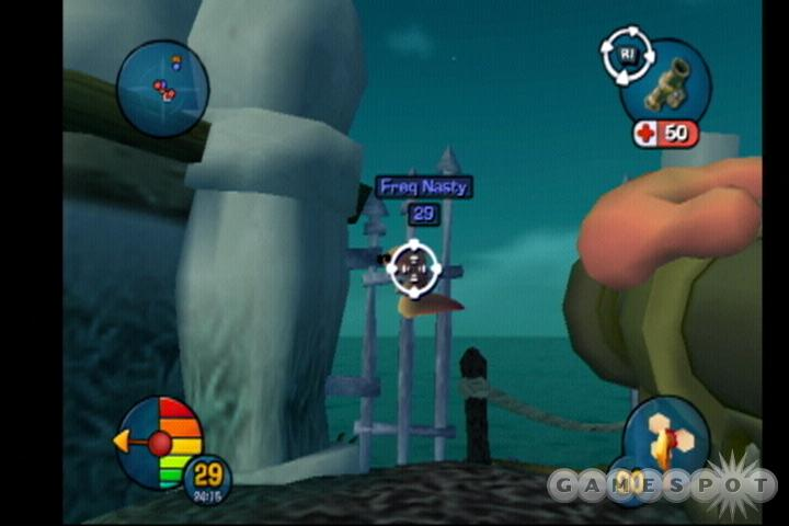 Worms 3D is faithful to the trappings of its predecessors, almost to a fault.