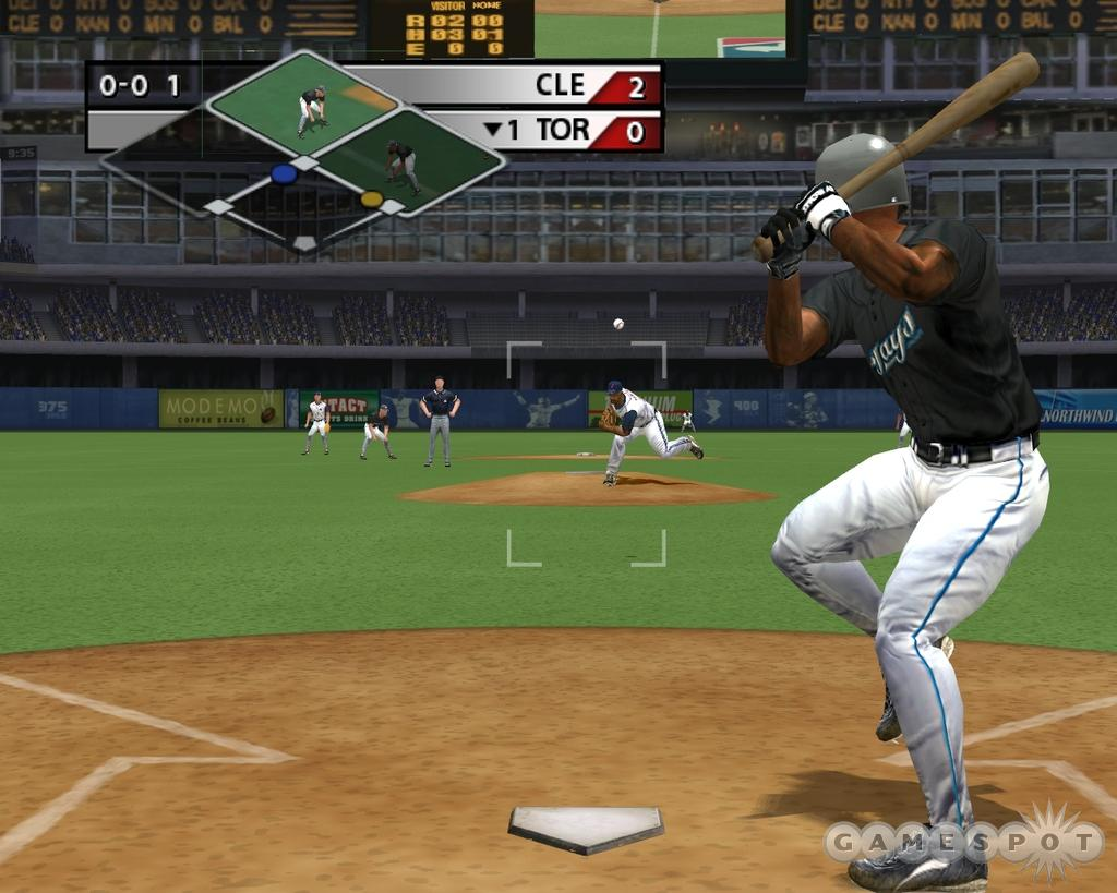 Batting animations have been perfectly captured. You can even see Carlos Delgado leaning into pitches and cocking his right leg before unleashing a swing.