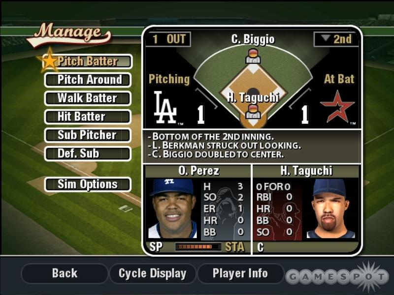 Unlike most EA Sports titles, you can forgo arcade gaming for strategizing, and you can even manage games that feature a text-based interface. You can always stop managing and jump into the action at any time too.