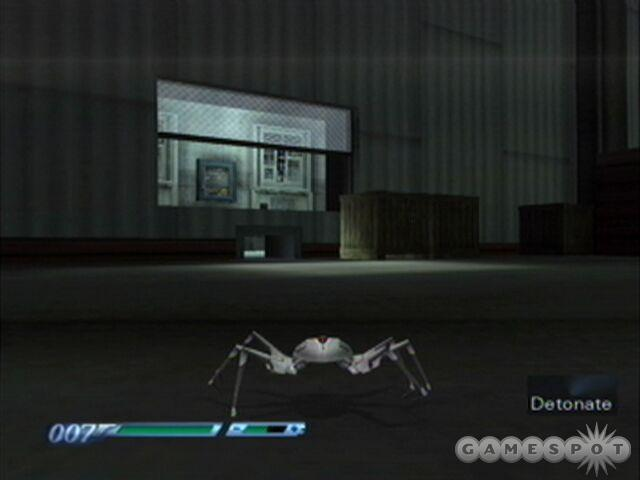 Once inside have the Q-Spider detonate near the laser controls.