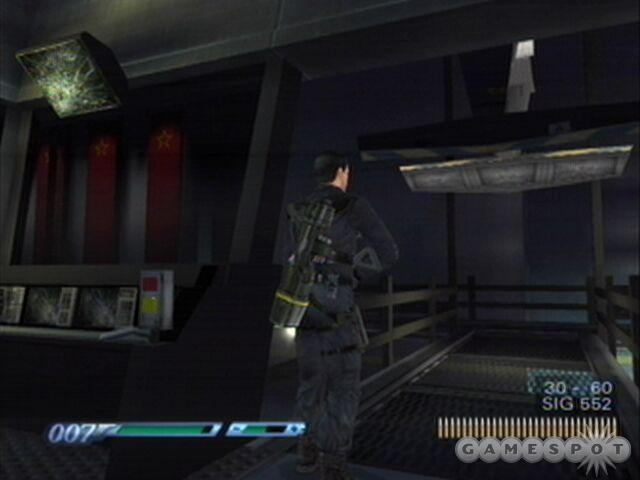 The platinum sprayer system will wreak havoc on an enemy and give Bond one of those precious moments.