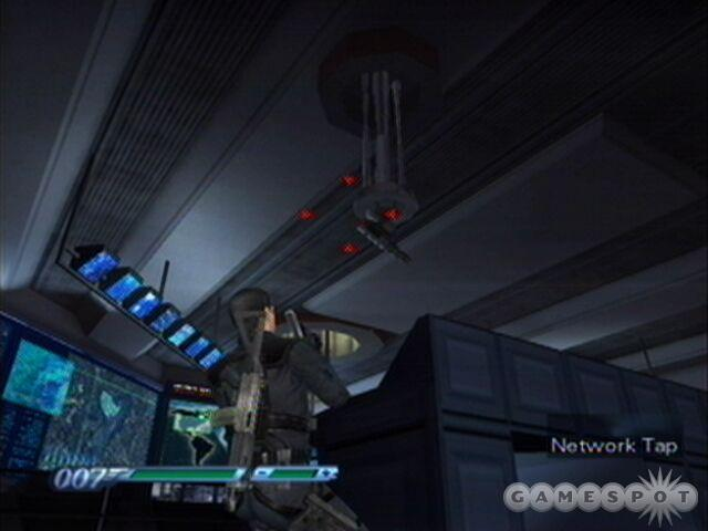 Just nail the turret with a network tap and Bond will be able to do some serious damage.