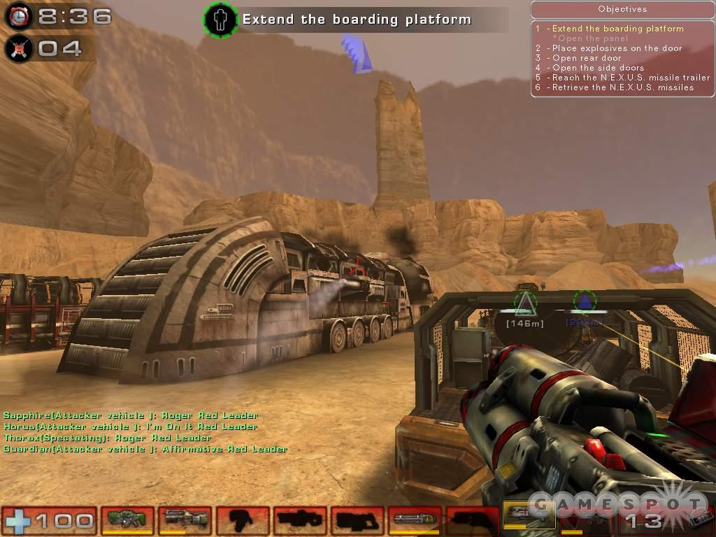 Unreal Tournament 2004 is an impressive game in every respect.