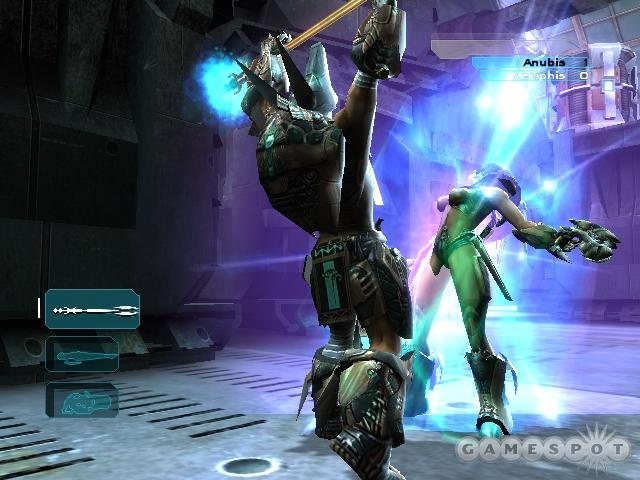 For the first time in the Unreal series, melee combat will figure as a prominent component of the gameplay.