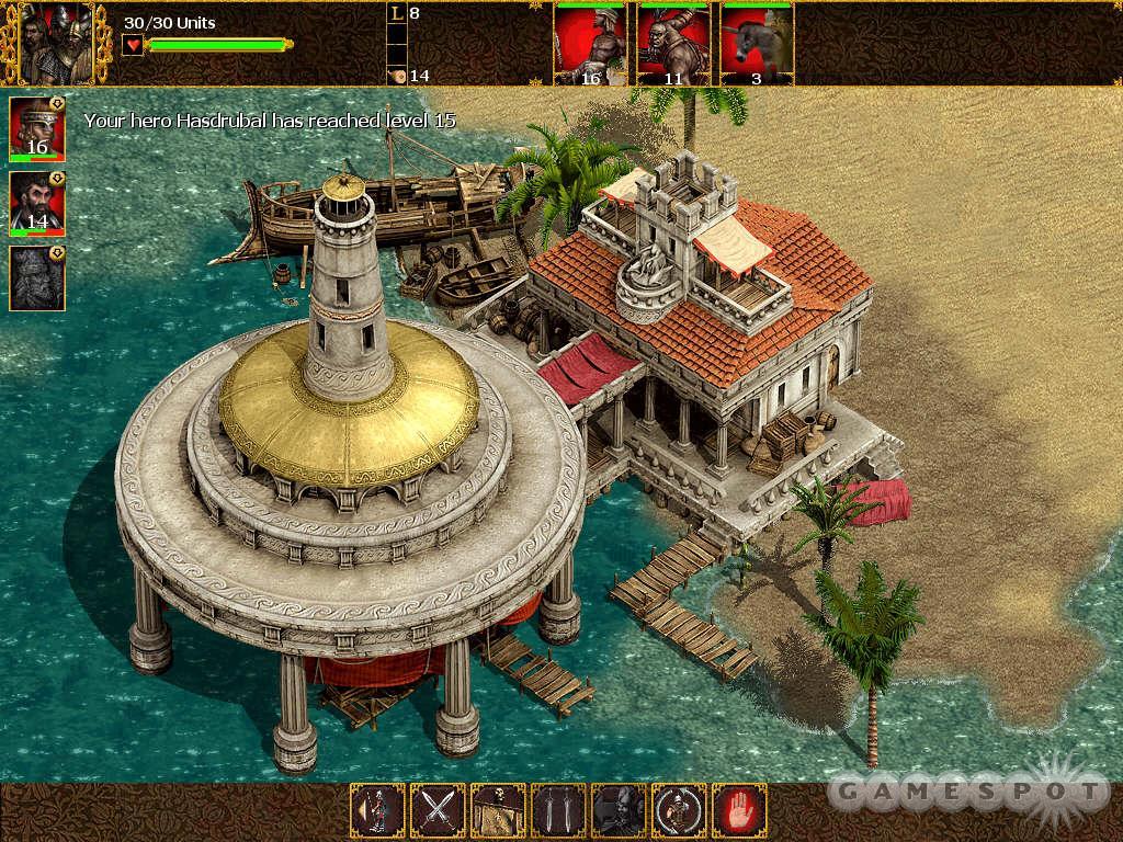 See screenshots of Nemesis of the Roman Empire