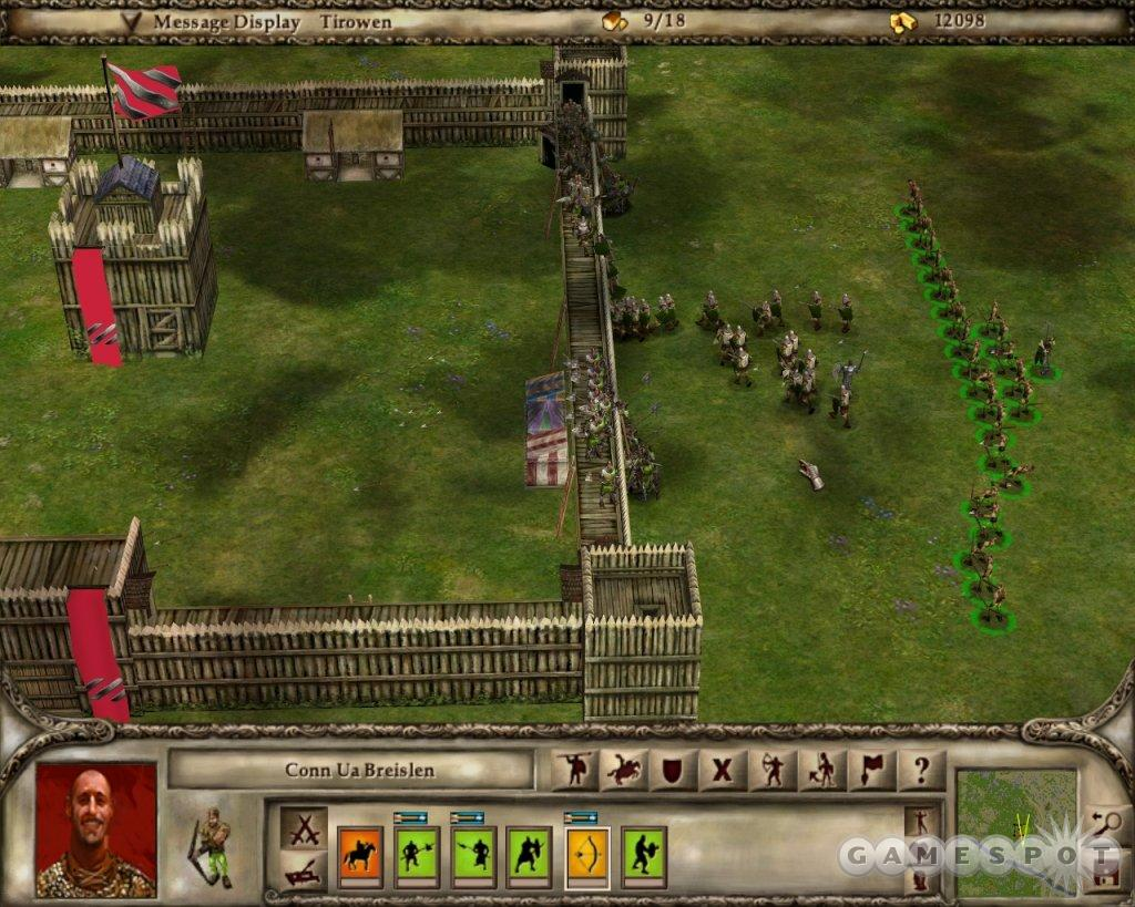 See screenshots of Lords of the Realm III