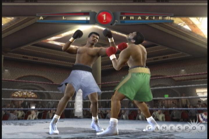 See screenshots of Fight Night 2004