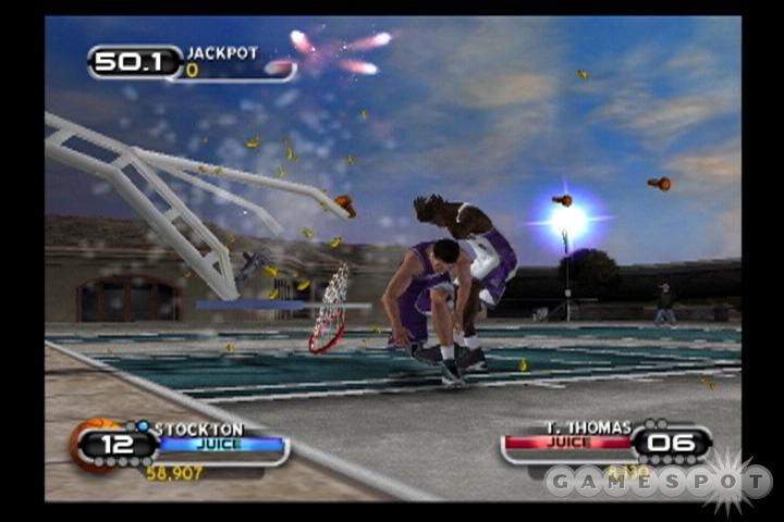 See screenshots of NBA Ballers