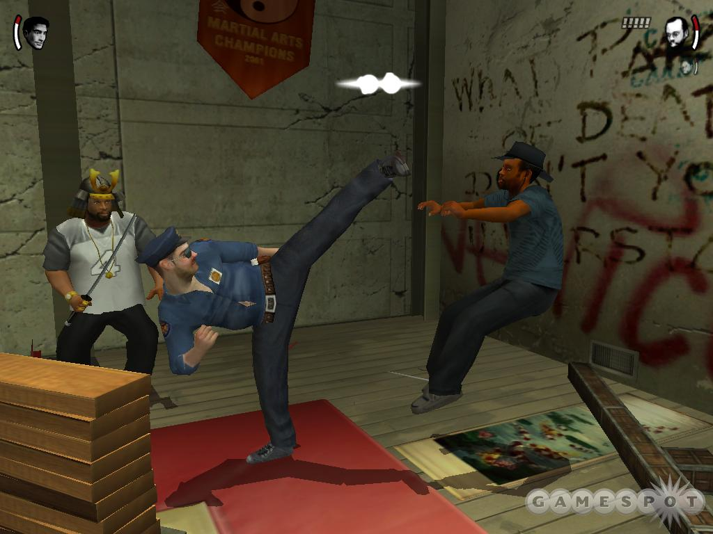 Officer Dick from the Tony Hawk's Pro Skater series is one of the new characters you can use.