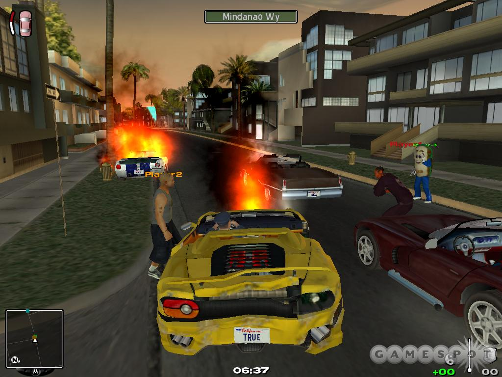 Multiplayer will let you and other players run rampant over Los Angeles.
