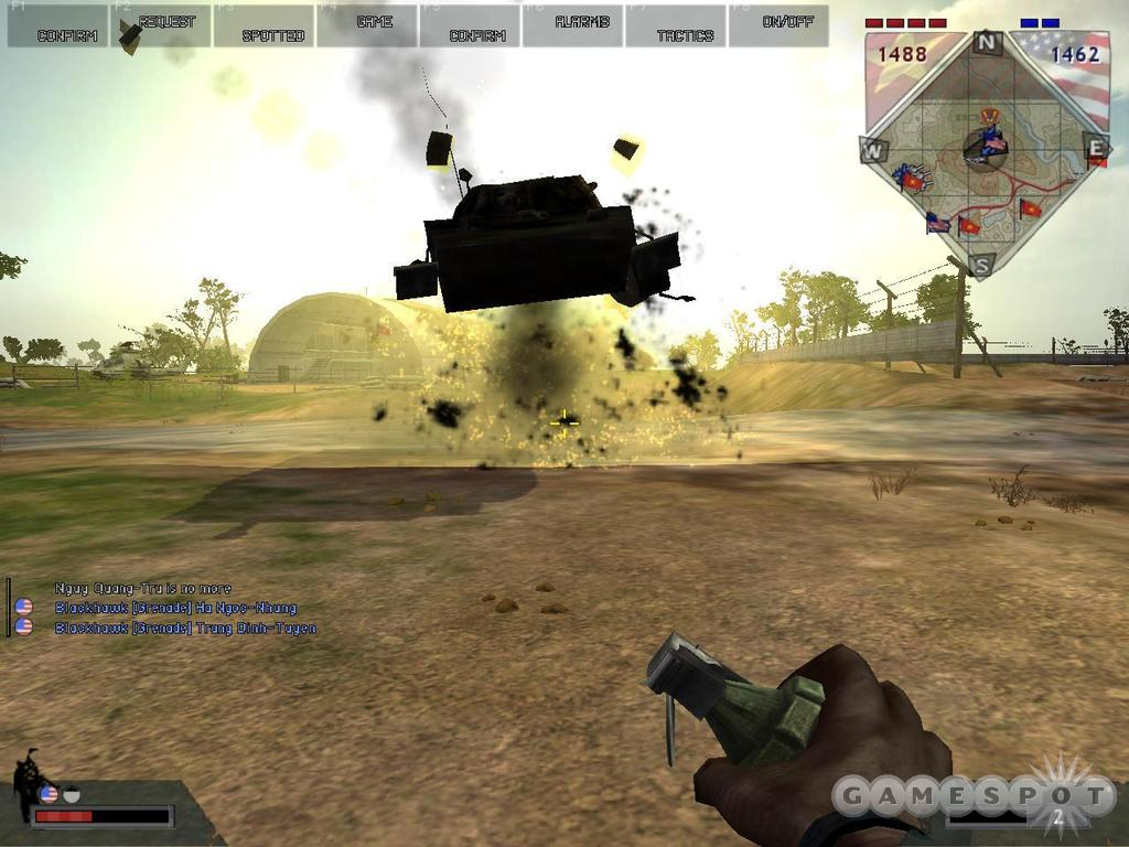 Hand grenades can be used against tanks in a pinch.