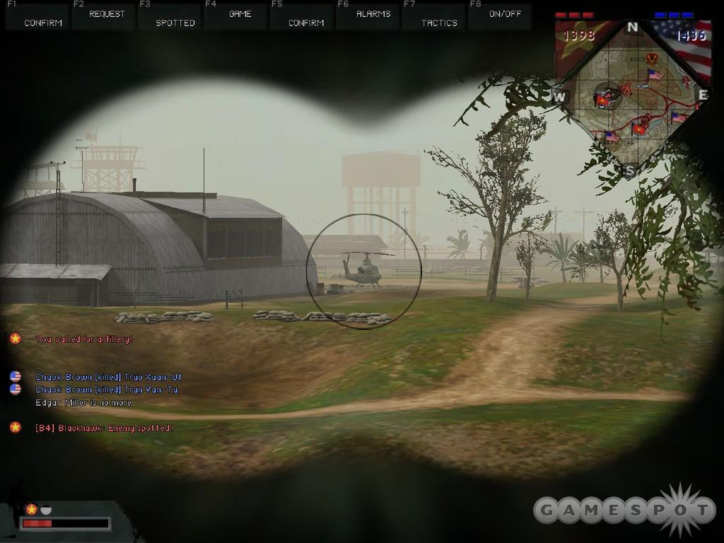 If there is any friendly artillery on the map, take a second to lay down coordinates with your binoculars.