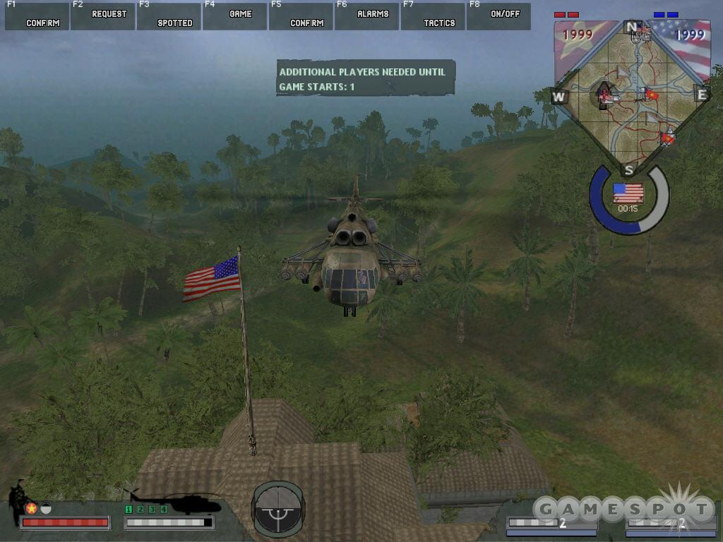 The ability to capture flags with a helicopter will help your team win, and send your score through the roof.