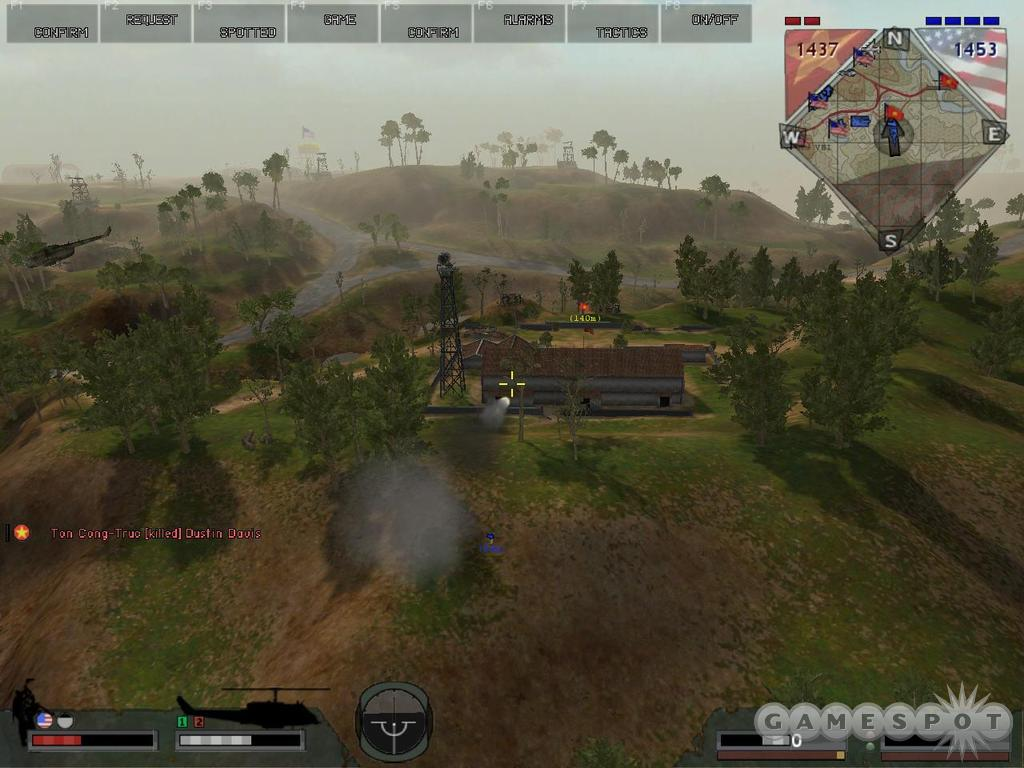 Use the 3D map while on the attack to ensure that you obliterate the enemy--and not your friends.