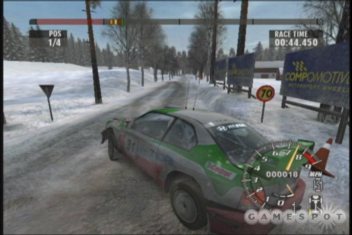 Digital Illusions returns to the arcade rally racing genre in grand fashion with Rallisport Challenge 2.