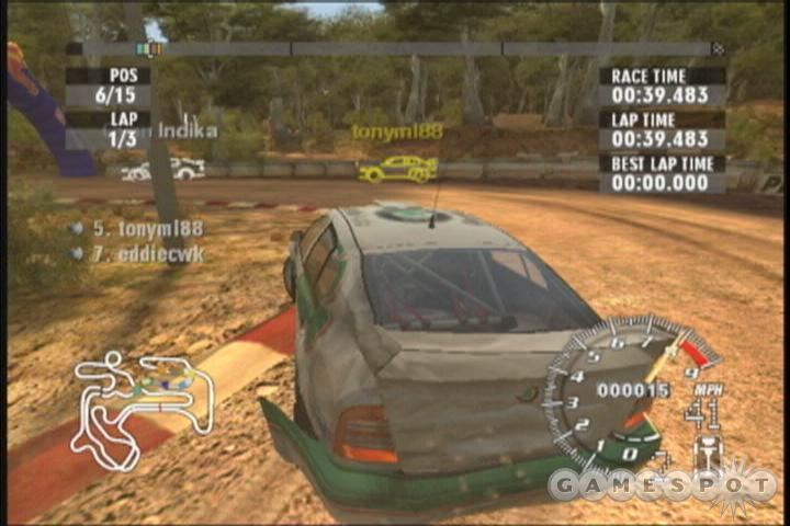 Rallisport 2's career mode will provide you plenty of hours of driving on its own--though not always the most challenging driving available in the game.