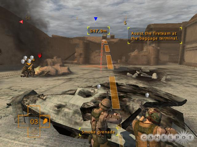 Entrenched foes are common throughout the game, and flushing them out with grenades is one of the most common ways of dealing with them.