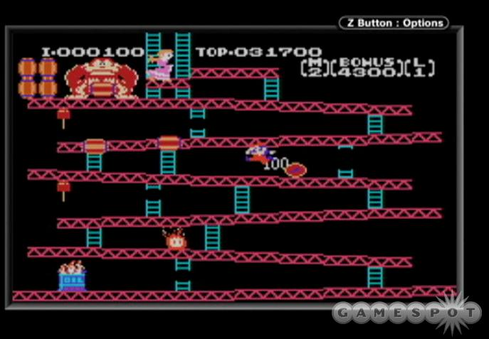 The insidious Donkey Kong will never let you rescue Pauline.