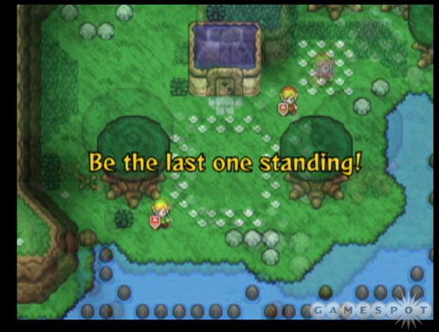 See screenshots of The Legend of Zelda: Four Swords Adventures