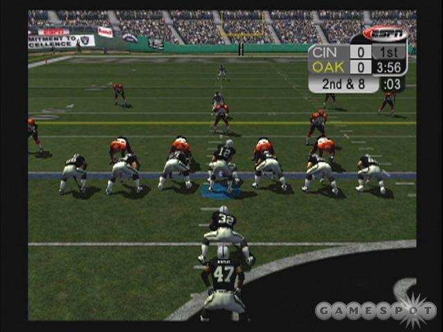 ESPN NFL 2005 offers all the hard-hitting action you expect from the series.