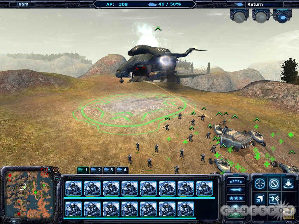 See screenshots of Ground Control II: Operation Exodus