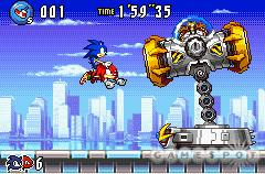 Tag ability--Sonic can fly on Knuckles' back.