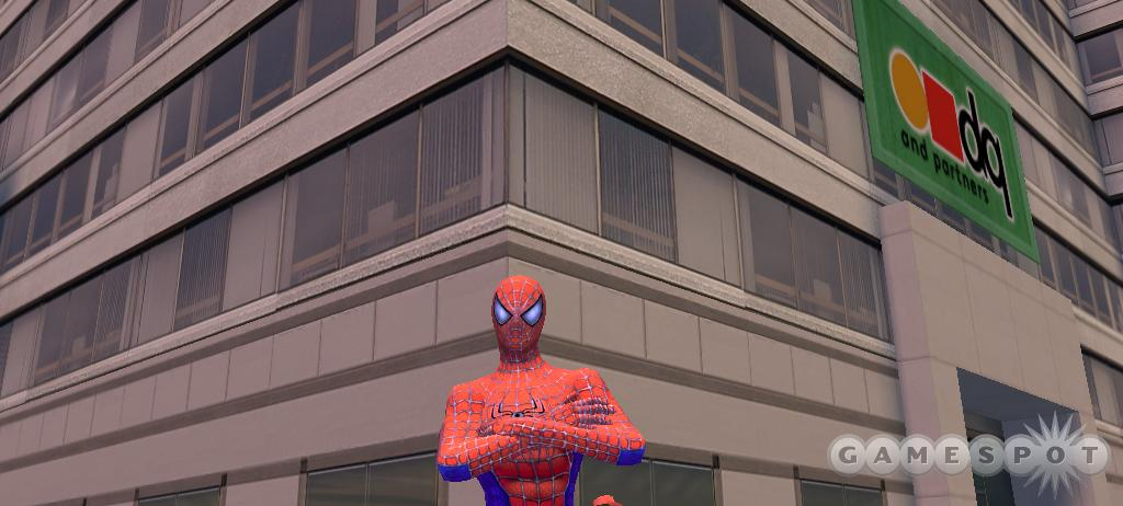 The PC version of Spider-Man 2 has overly simplified gameplay.