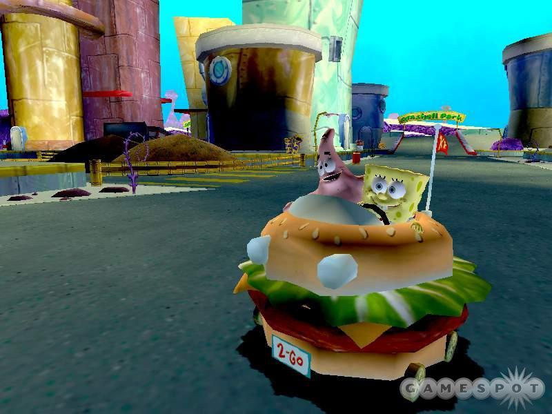 If you ever wanted to drive a hamburger, your time has come.