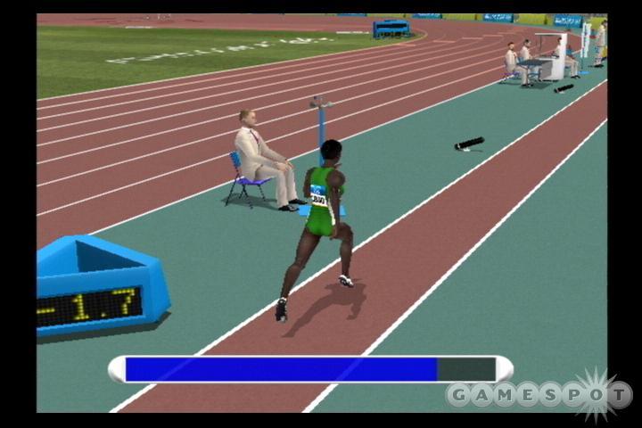 Fans of Track & Field will get a sense of déjà vu playing Athens 2004.