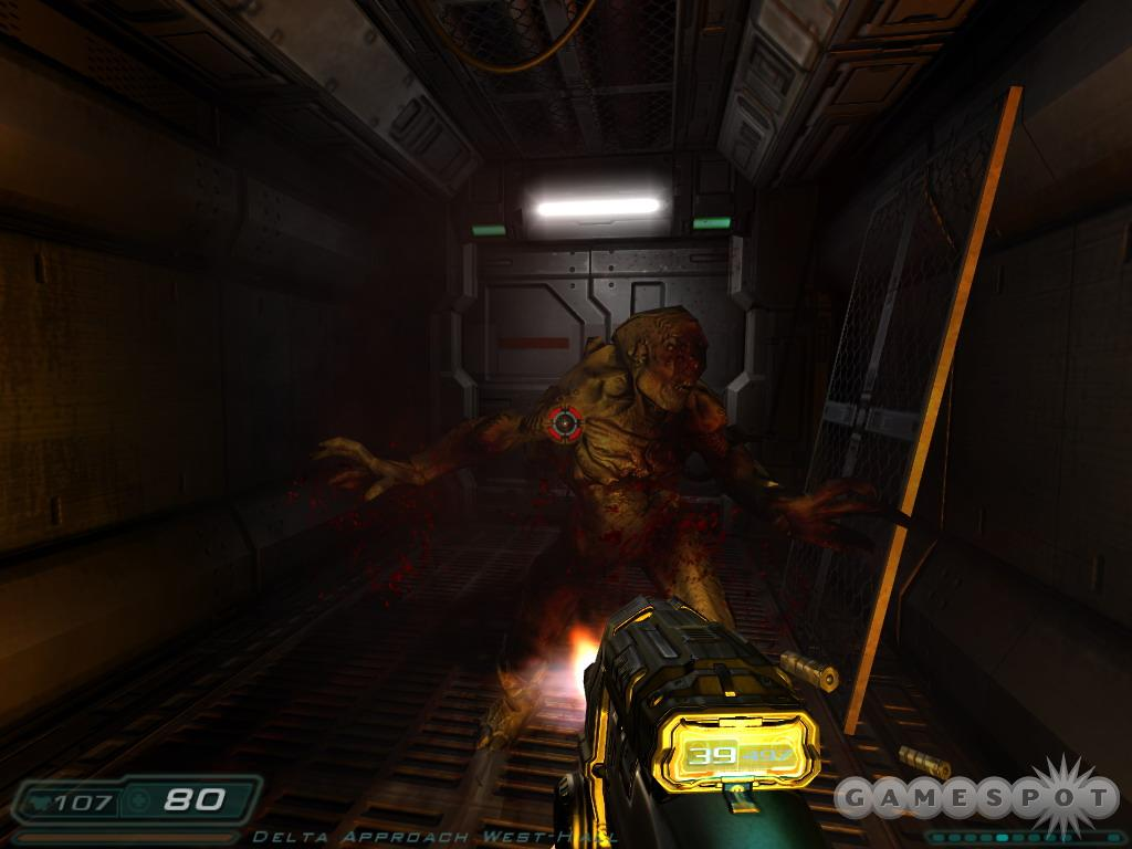 There's no debating one thing about Doom 3: It looks absolutely, positively phenomenal.
